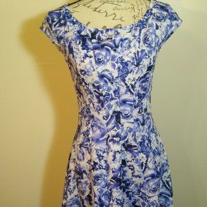Signature By Robbie Bee Fit n Flare Dress NWOT